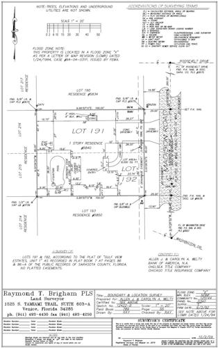 Lowest Floor Elevation Fema Form : Brigham allen surveying inc land services
